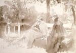 Ilya Repin - Ksenian ja Nedrovin tapaaminen puistossa Nevan saarilla